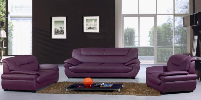 Modern Leather Sofa, Upholstery 3+2+1 Modern Leather Sofa, Stylish  Sectional Seat, Sofa Set, Contemporay Living Room Furniture; Model: 816;