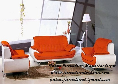 Modern Soft Leather Sofa, Contemporary Leisure Sofa, 1+2+3 Upholstery  Sectional Sofa, Love Seat, Home Or Office Sofa Set, Living Room Furniture;  Model: Q23