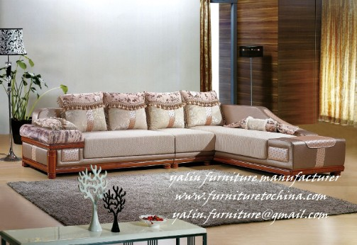 Yalin Furniture China Furniture Manufacturer Modern Sofa Corner Sofa Office Chair Visitor